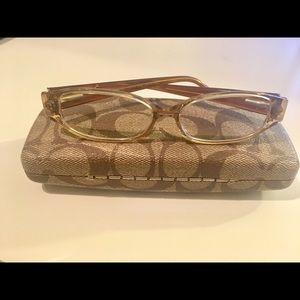 Coach prescription glasses frame